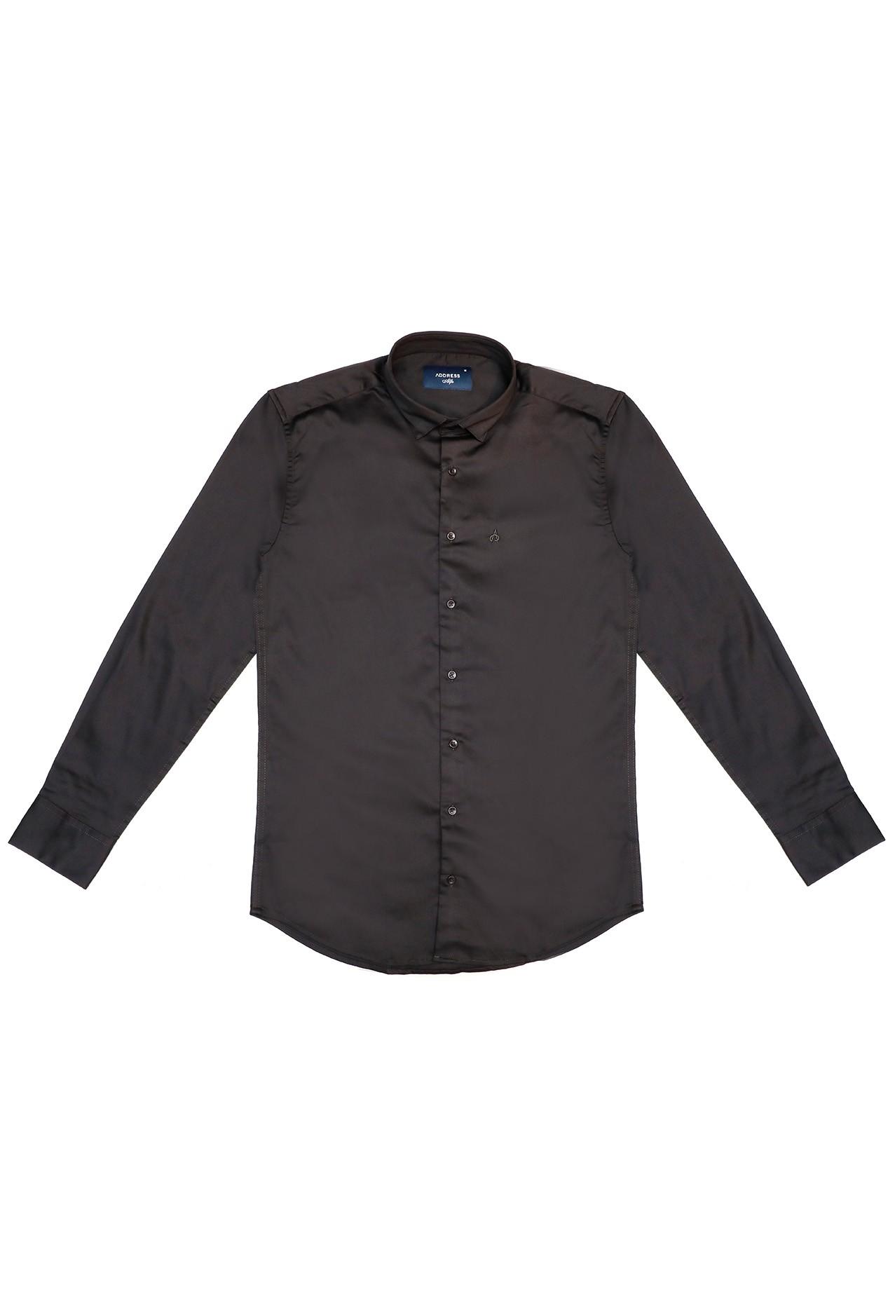 Address Formals Shirt Black, Medium