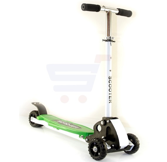 3 wheel scooter color Green WT-415
