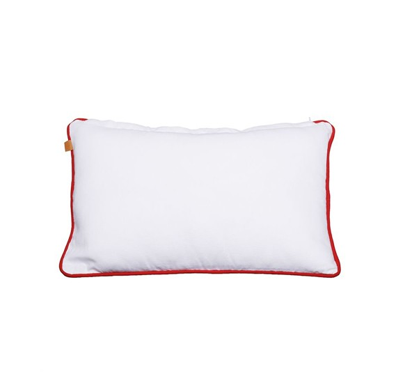 Stories White & Red Pillow 50x30 cms FACI000652