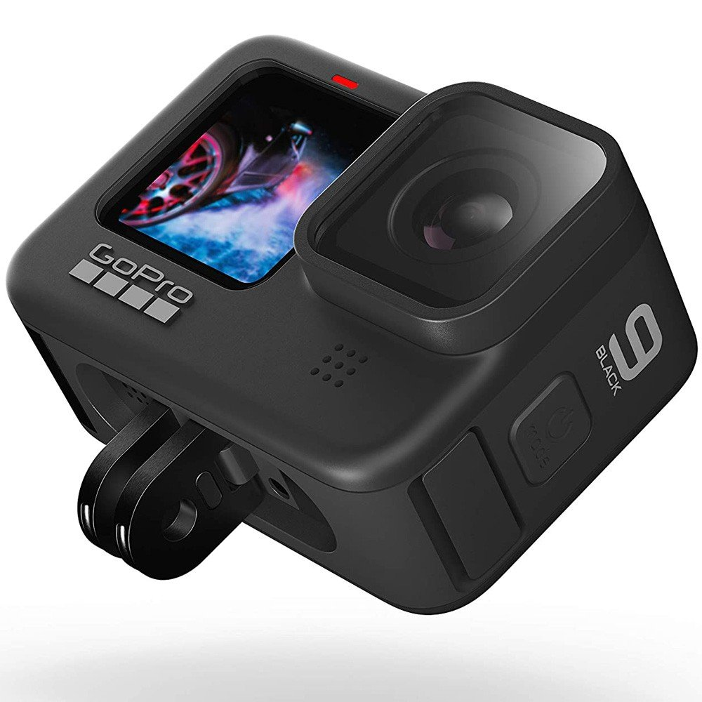 GoPro HERO9 Black Waterproof Action Camera With Front LCD