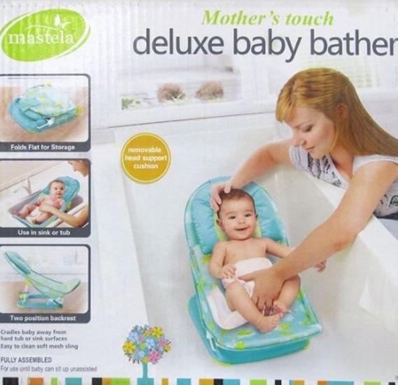 Mastela Baby Bather Green, Green Future