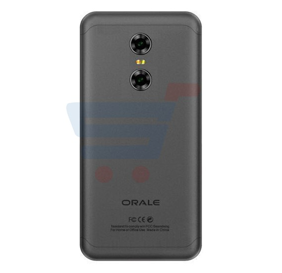 Orale X1 Smartphone, Android OS, 5.5 Inch HD Display, 2GB RAM, 16GB Storage, Quad Core Processor - Black