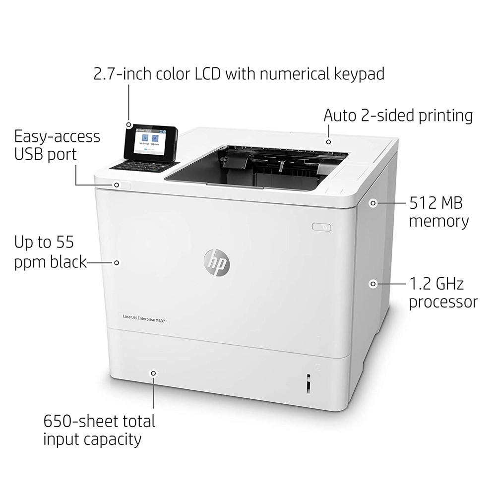 HP M608N Laserjet Enterprise Monochrome Laser Printer
