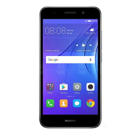 Huawei Y3 2017 Dual Sim - 8 GB, 1 GB RAM, 4G, Black