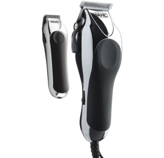 WAHL Deluxe Chrome Pro- Complete Haircutting Kit