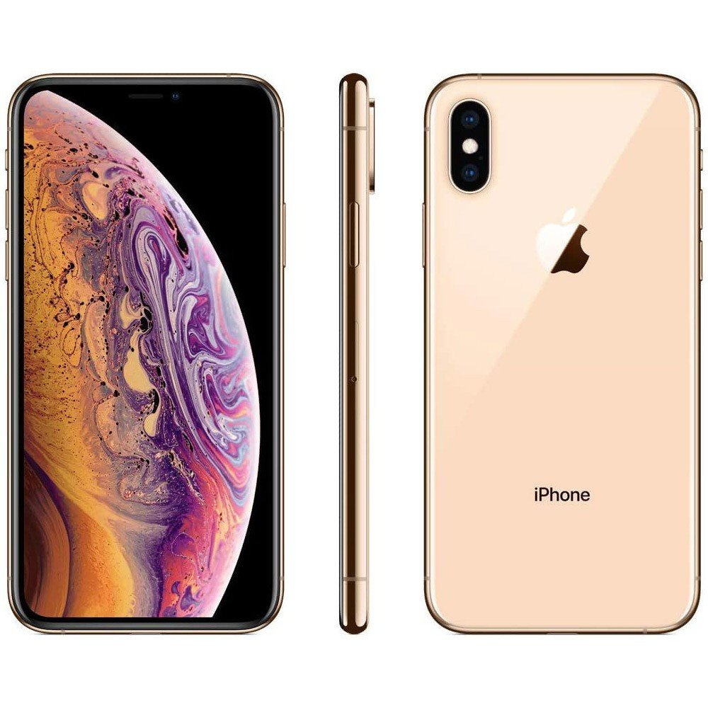 Apple iPhone Xs with FaceTime Gold 256GB Storage, 4G LTE, Activated