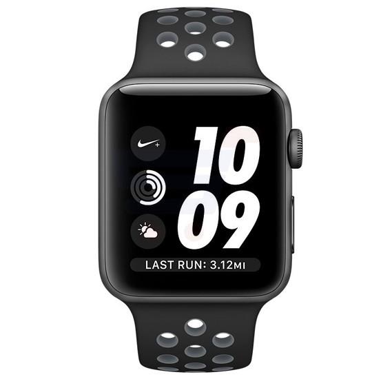 Apple Watch Series 3-38MM MQKX2 Platinum / Black Nike +
