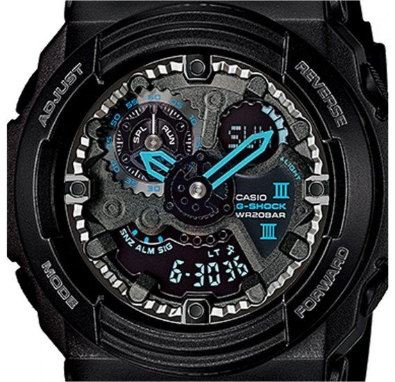 Casio G-Shock Resin Band Watch For Men - GA-300BA-1A
