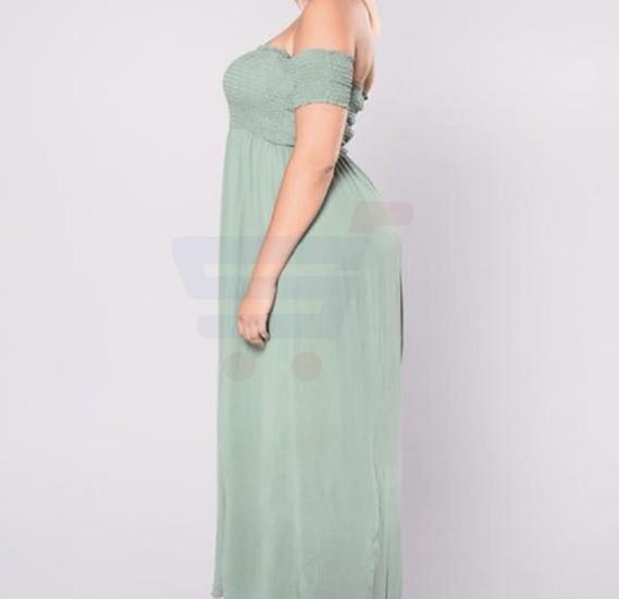 Lakoki Missing Shoulders Dress - XXL