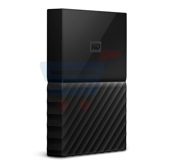WD MY Passport 2TB Hard Disk, Black