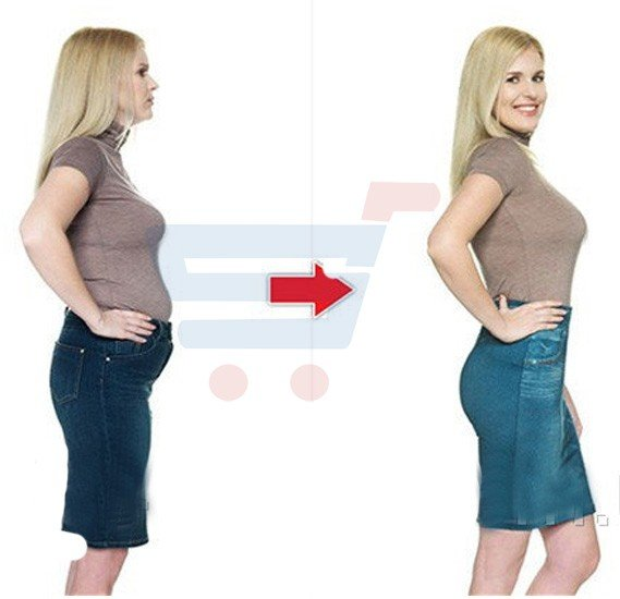 Denim Mini Skirt (Free Size) - Black