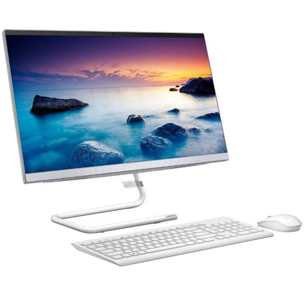 Lenovo IdeaCentre A340-24ICK All-in-One Desktop with 23.8 inch FHD Display, Core i5-9400T Processor, 8GB RAM, 1TB HDD, 2GB Radeon 530, Windows 10 Home, White