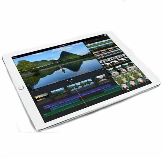 Apple iPad Pro with Facetime Tablet - 12.9 Inch, 256GB, 4G LTE, Silver