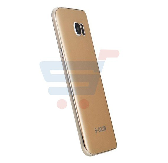 S-Color S7 Smartphone, 4G, Android 6.0, 2GB RAM, 16GB Storage, 5.0 inch QHD Display, Dual SIM, Dual Camera, Quad Core 1.8GHz Processor - Gold