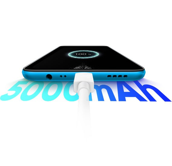 Realme C3 Dual Sim 2GB RAM 32GB Storage 4G LTE Blue