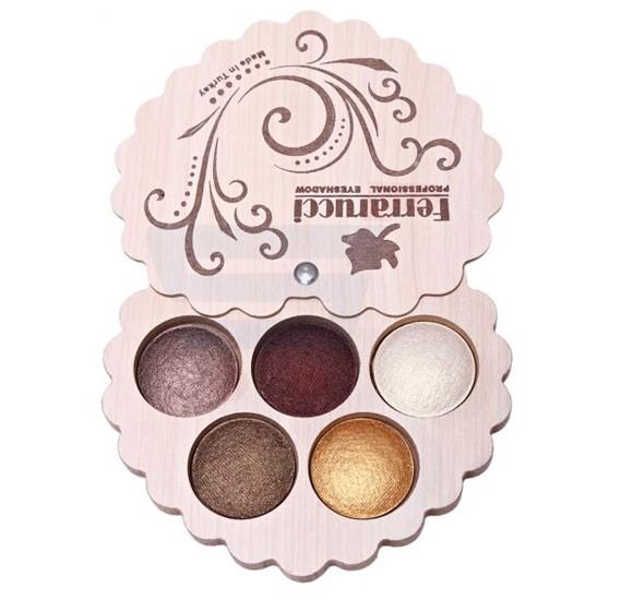 Ferrarucci 5 Color Eye Shadow 110g, 7