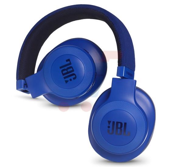 JBL Over-Ear Bluetooth Stereo Wireless Headphone E55BT Blue