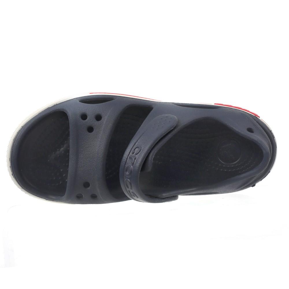 Crocs Kids Clogs Sandals Crocband LI Sandal PS Navy/White, Size 25