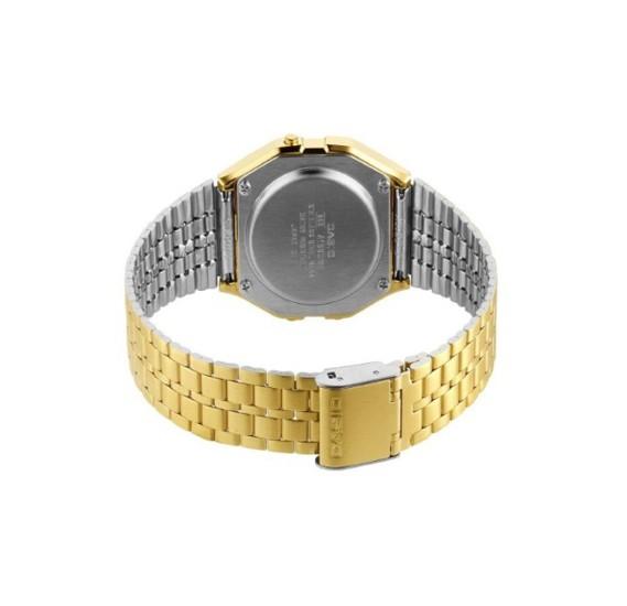 Casio Mens Casual Digital Watch Gold, A159WG-1DF