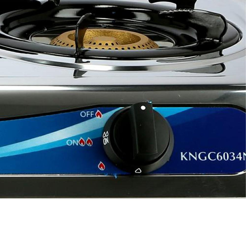 Krypton Stainless Steel Double Gas Burner KNGC6034