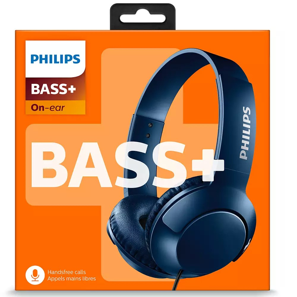 Philips SHL3075BL/00 Headphones With Mic Blue