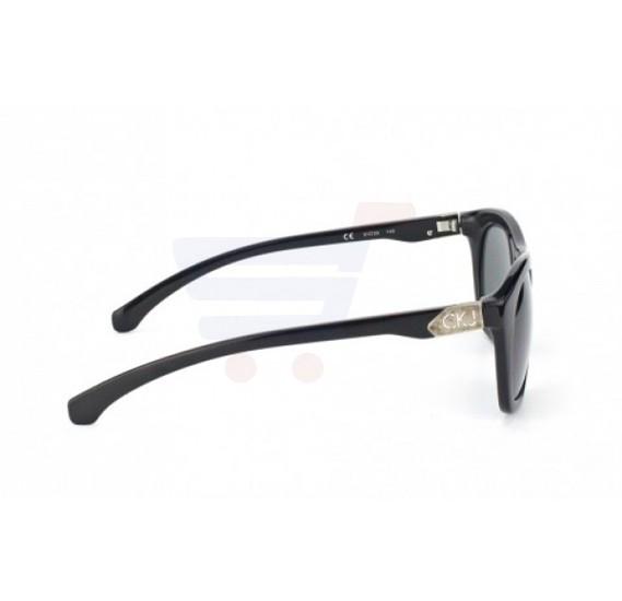 Calvin Klein Wayfarer Black Frame & Grey Mirrored Sunglasses For Unisex - CKJ734S-001
