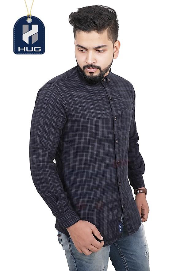 HUG Mens Casual Shirts Size M - SPBL0108