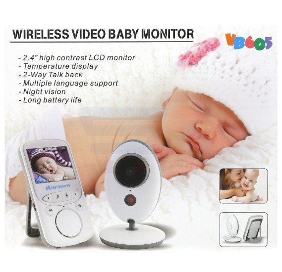 T&F Wireless Video Baby Monitor - WT004942