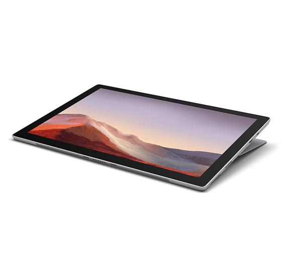 Microsoft Surface Pro 7, 12.3 inch Display, i5 Processor, 8GB RAM, 256GB Storage, Win10 Pro Platinum 1 Year
