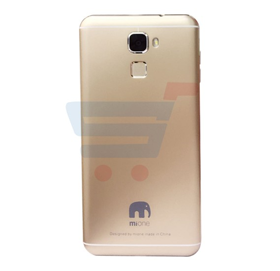 Mione C9 4G Smartphone, Andoid OS, 6.0 Inch HD Display, 3GB RAM, 32GB Storage, Dual SIM, Dual Camera, 1.5GHz Quad Core Processor- Gold