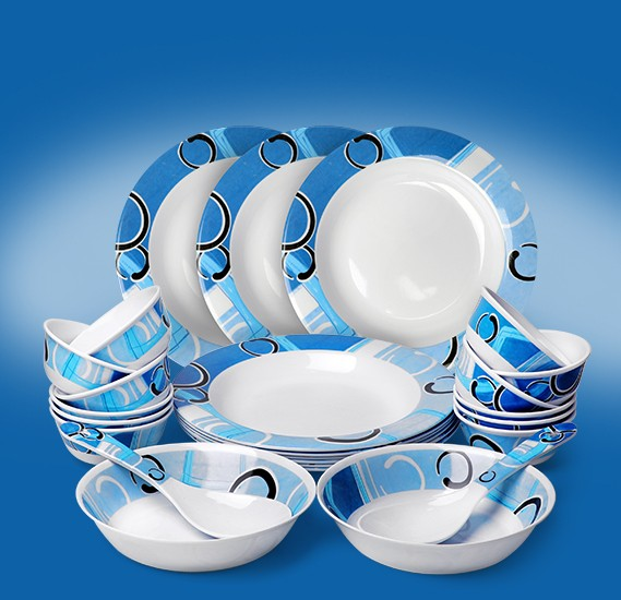 OSP 22 pcs Melamine Ware Dinner Set, RMDS-9722B