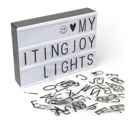 Eazy Kids Letter Light Box A5