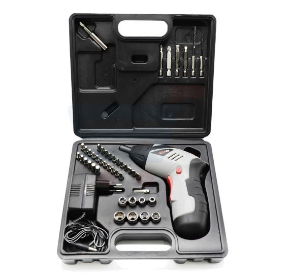 Professional JUMLEE Cordless Screwdriver Kit