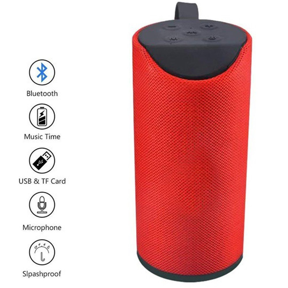 3 in 1 Bundle TG113 Wireless Bluetooth Speaker, I12 TWS Bluetooth Earphone and Xtouch F40 Dual SIM 32MB RAM 32MB 2G -Black