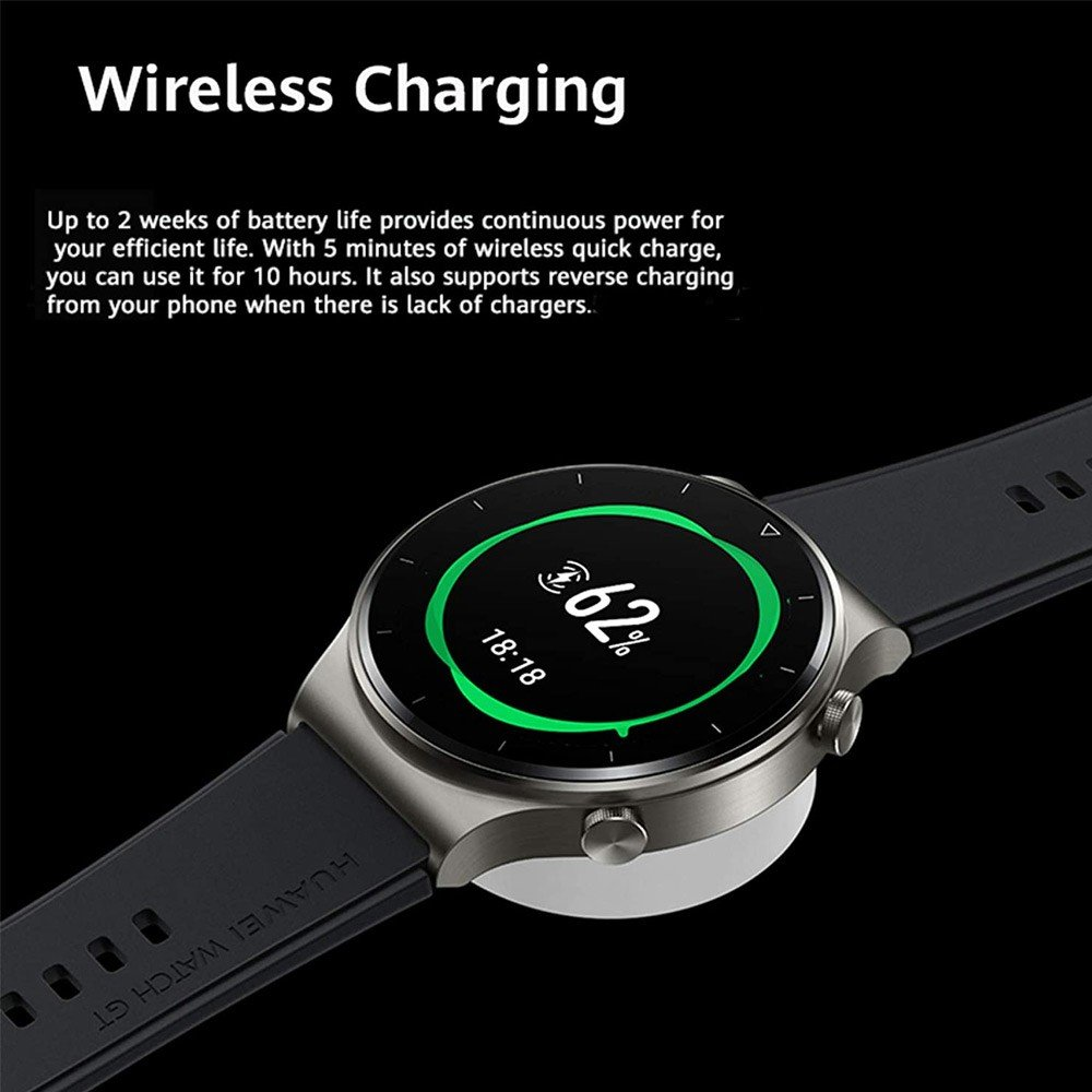 Huawei GT2 Pro Smartwatch With 100+ Sports Mode Night Black