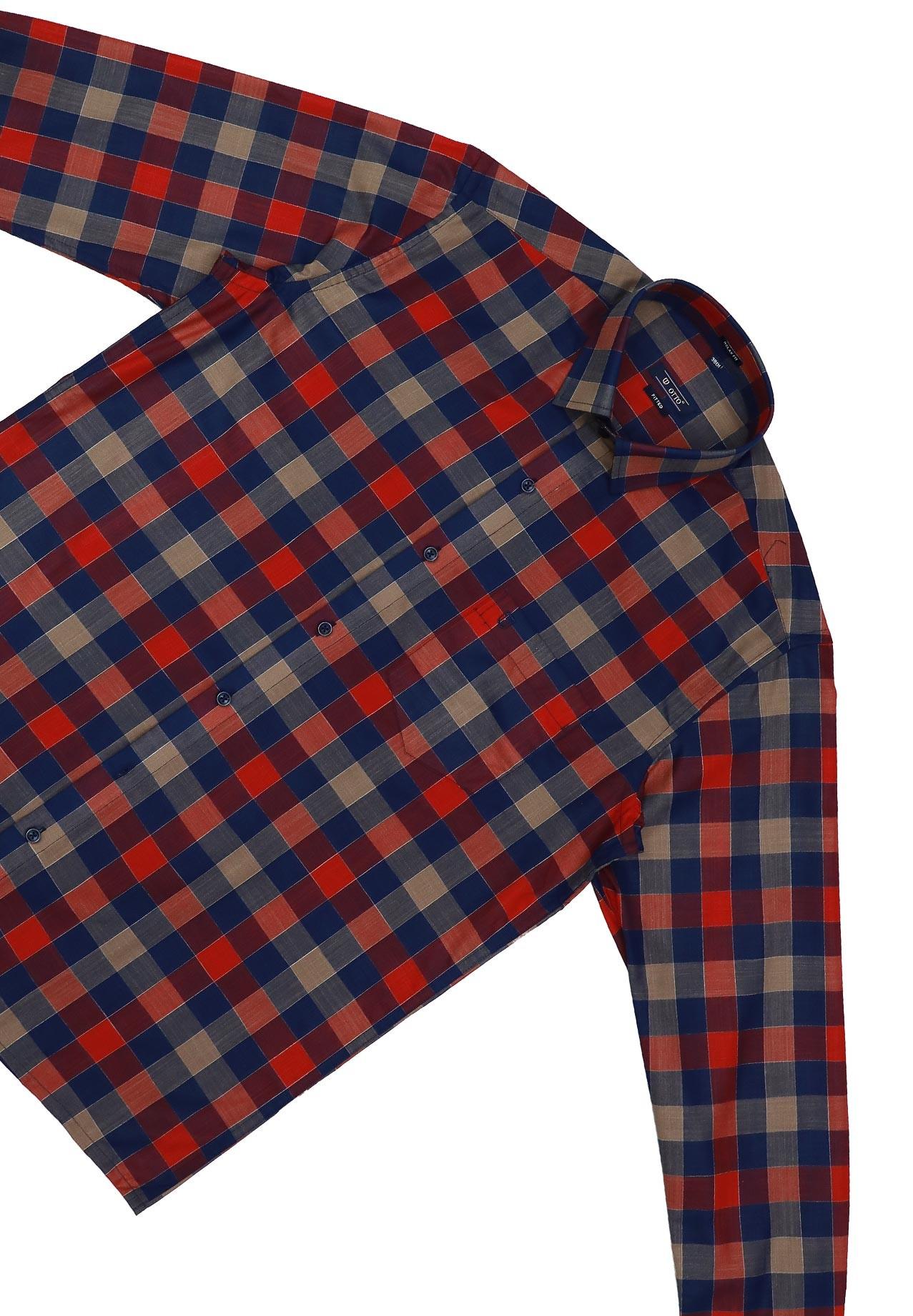 Otto LS CD80185 Mens Formal Shirt, Size 40