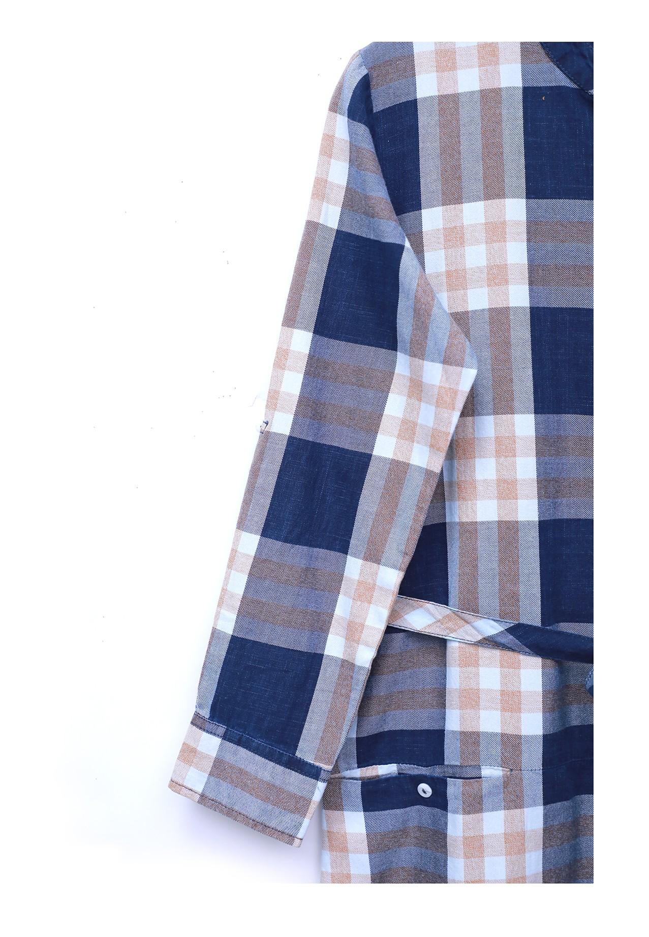 Zola Ladies Shirt, Navy Blue-ZL6797