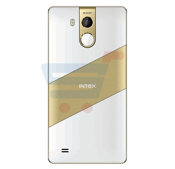 Intex Cloud String HD 4G Smartphone,Fingerprint,Android OS,5 Inch HD Display,2GB RAM,16GB Storage,Dual Camera,1.3GHz Quadcore Processor-White