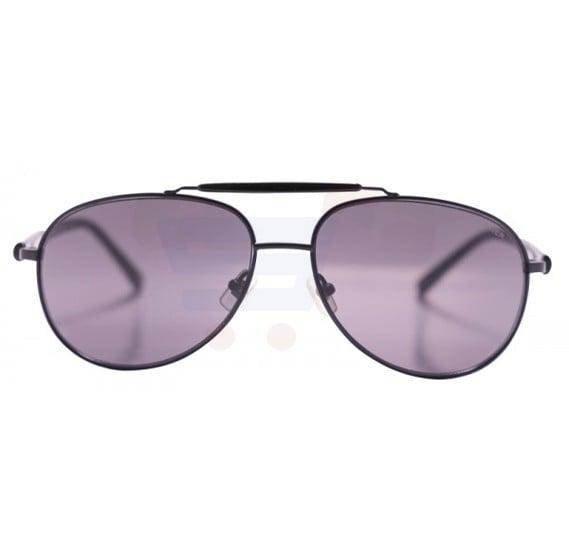 Aigner Aviator Black Frame & Black Mirrored Sunglasses For Men - AI-SM-03A-COL3