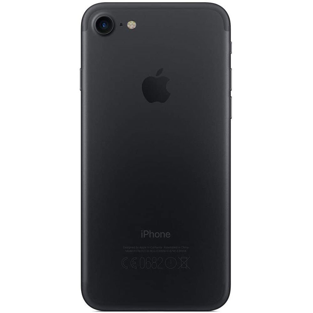 Apple iPhone 7, 128GB Storage, 4G LTE, Black, Refurbished