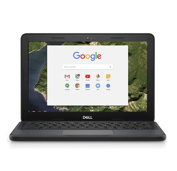 Dell Chromebook 11, Intel Celeron, 11 Inch Screen, 1.4GHz Processor, 2GB RAM, 16GB SSD,  HDMI Port, Web Camera, Black-Refurbished