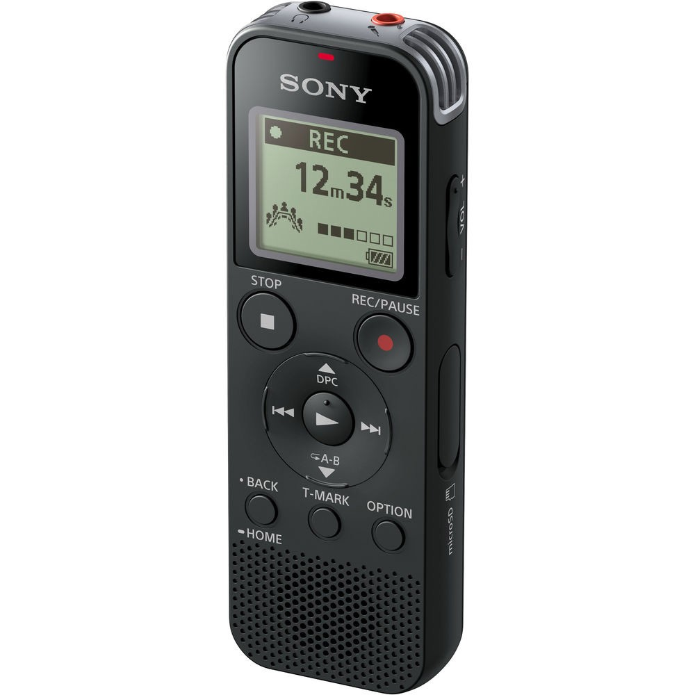 Sony ICD-PX470 Digital Voice Recorder with Built-in USB, Black
