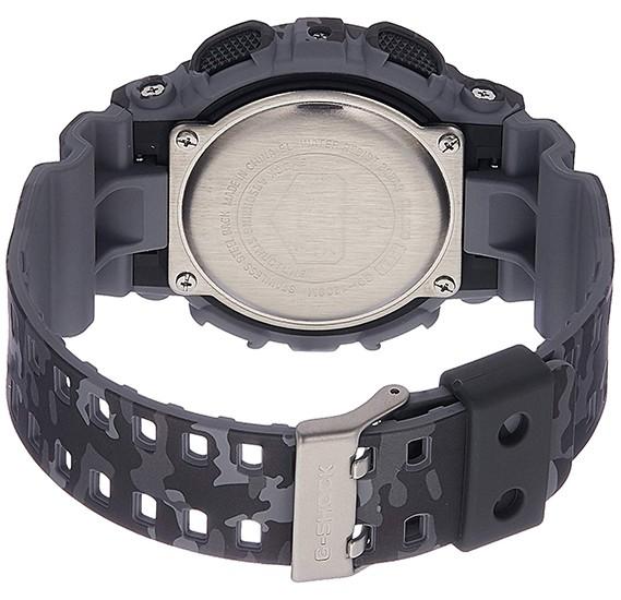 Casio G-Shock Digital Grey Dial Mens Watch - GD-120CM-8DR