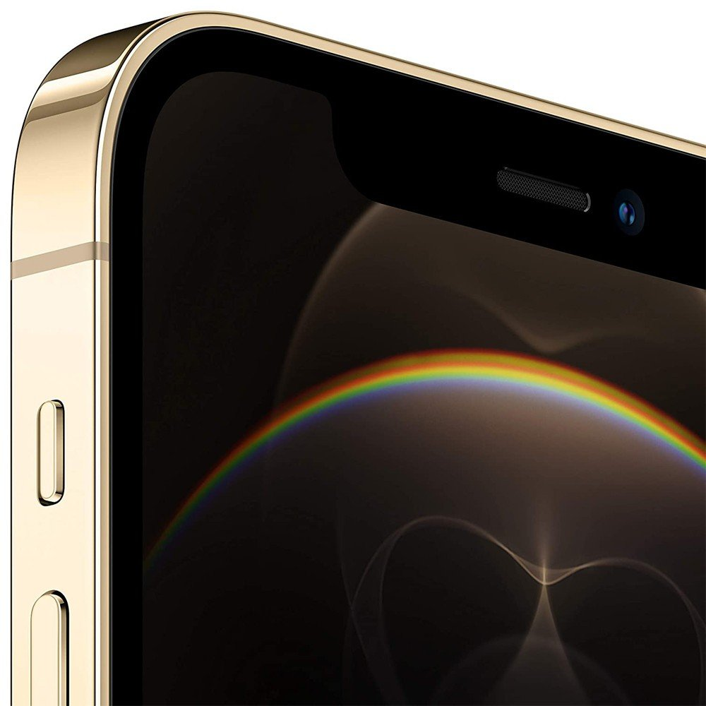 Apple iPhone 12 Pro Max, 128GB Storage, 5G, Gold With FaceTime