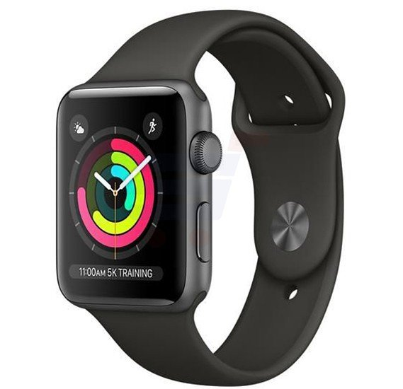 Apple Watch Series 3 - 42mm Aluminum Case, MR362 - Space Gray