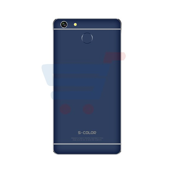 S-COLOR T30 4G LTE Smartphone,Android 6.0,HD Display 5.5 inch,3GB RAM,32GB Storage,Dual SIM,Dual Camera,Quad Core 2.0 Ghz,FM Radio,Hi-Fi Stereo-Blue