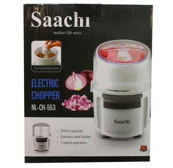 Saachi NLCH-553 Electric Chopper - White