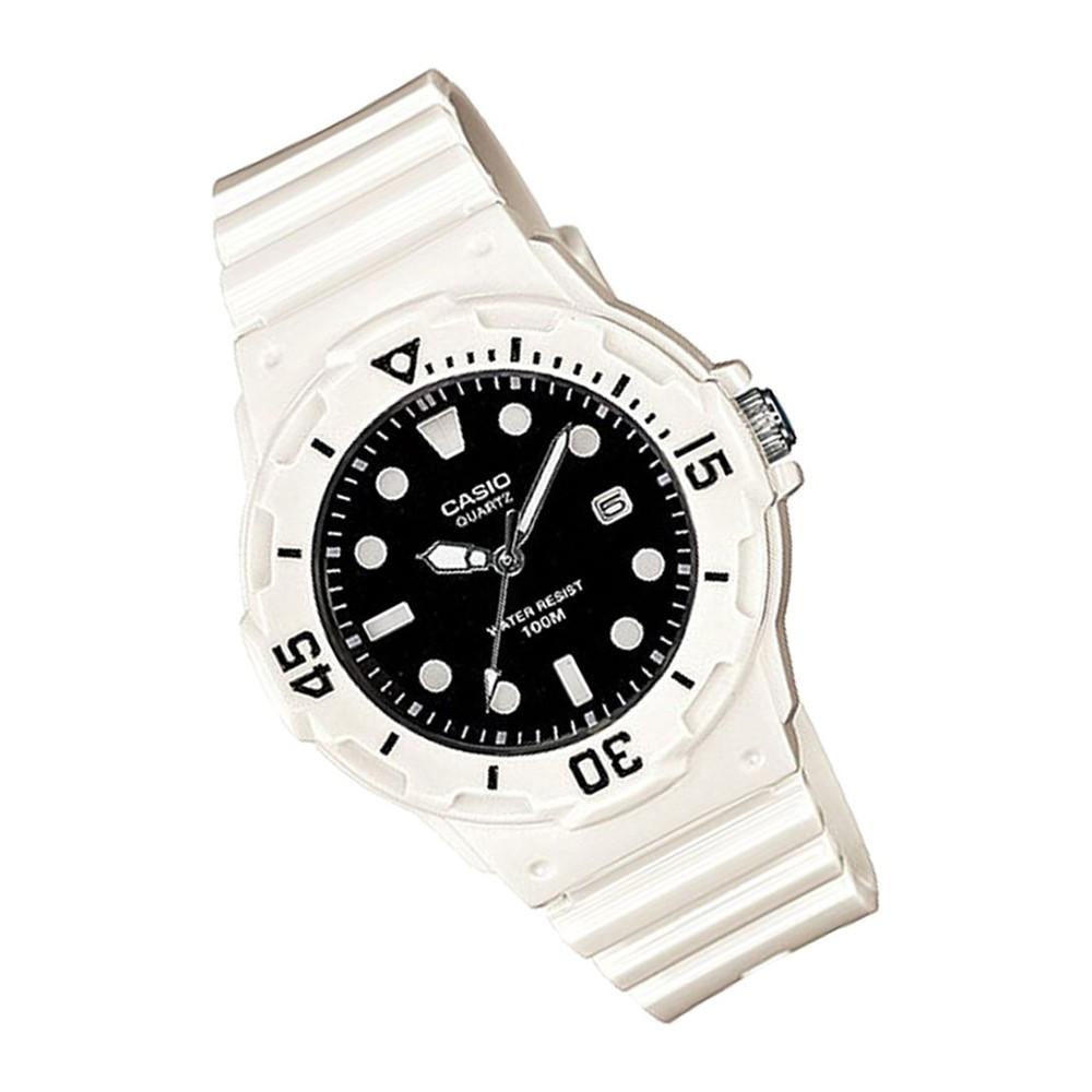 Casio Analog White Watch, LRW-200H-1EVDF