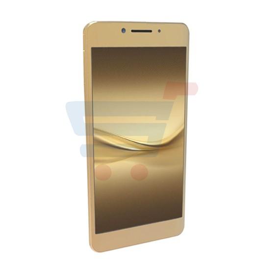 Kagoo K02 Smartphone, Android, 5 Inch Display, Quad Core 1.3GHz, 4GB Storage, 1GB RAM, Dual SIM, Dual Camera - Gold