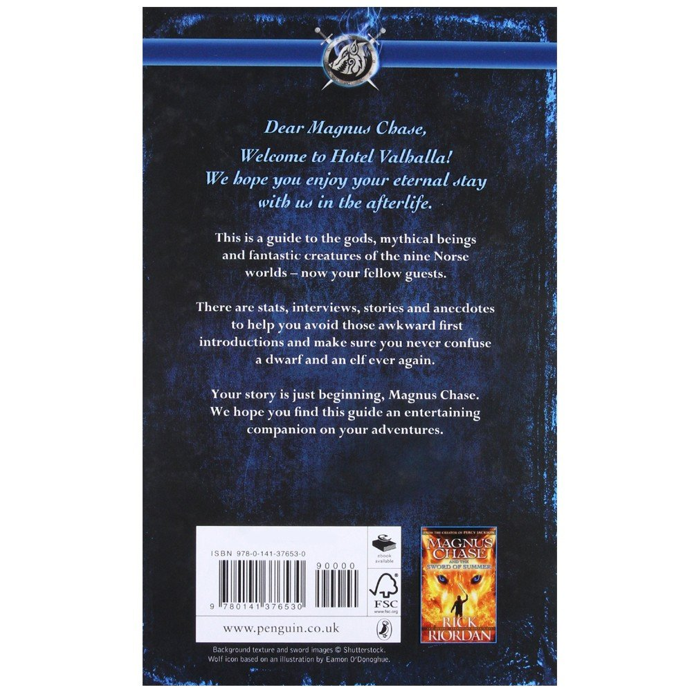 Hotel Valhalla Guide to the Norse Worlds-Rick riordan